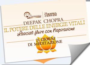 meditazioni con deepak chopra